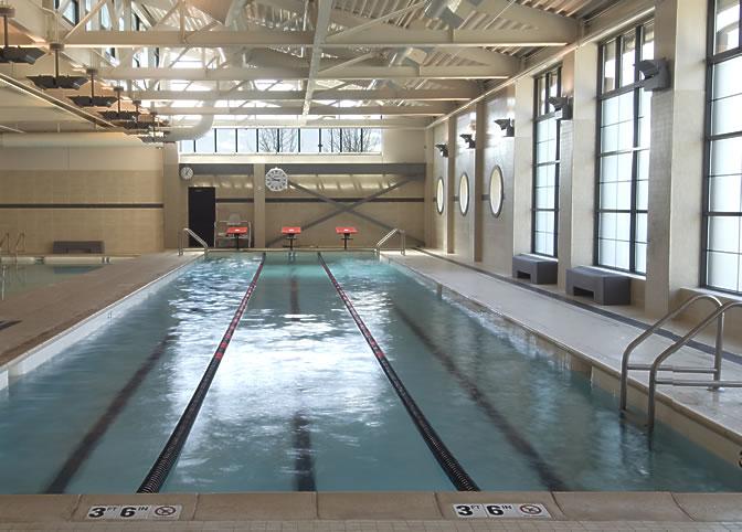 Princeton Club pool
